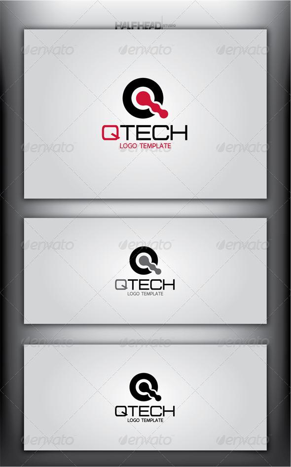 QTECH Logo Template
