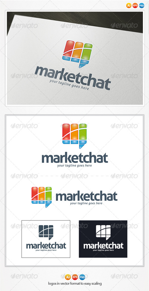 GraphicRiver Market Chat Logo 4384694