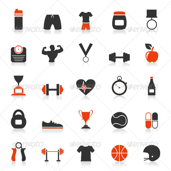 GraphicRiver Fitness an Icon 2 4477521