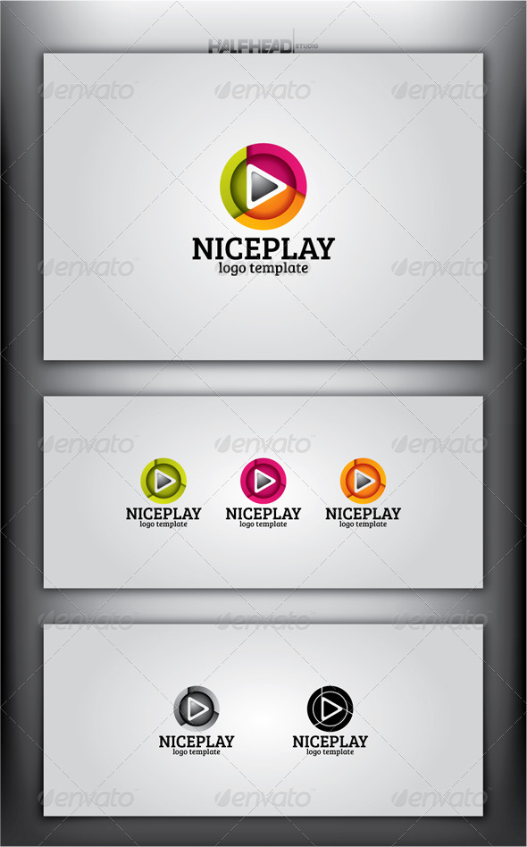 GraphicRiver NICEPLAY Logo Template 4477850