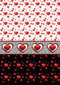 Backgrounds with Different Hearts - PhotoDune Item for Sale