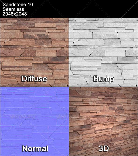 3DOcean Sandstone Seamless Texture 10 4479640