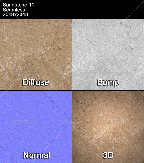 Sandstone Seamless Texture 11 - 3DOcean Item for Sale