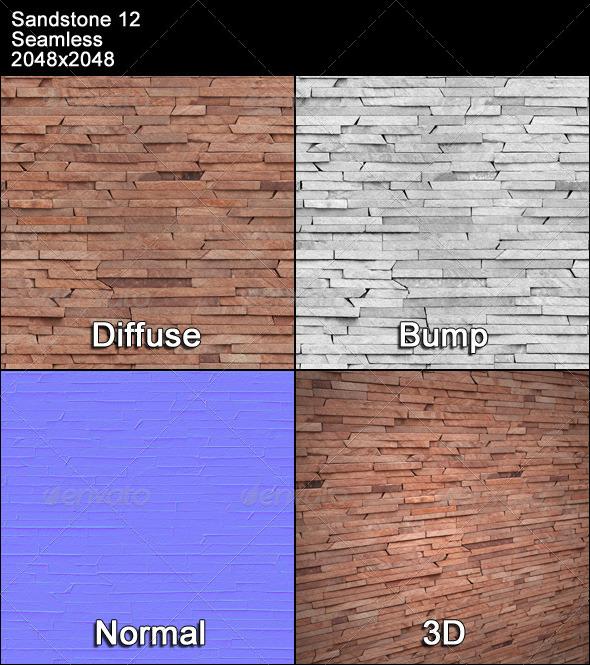 3DOcean Sandstone Seamless Texture 12 4479760