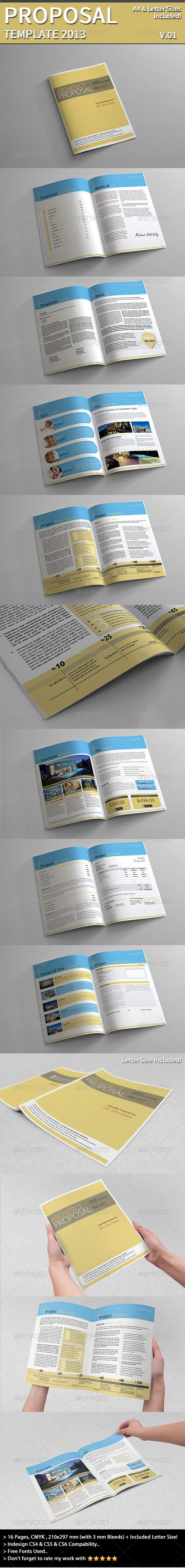 GraphicRiver Project Proposal Template 4385466