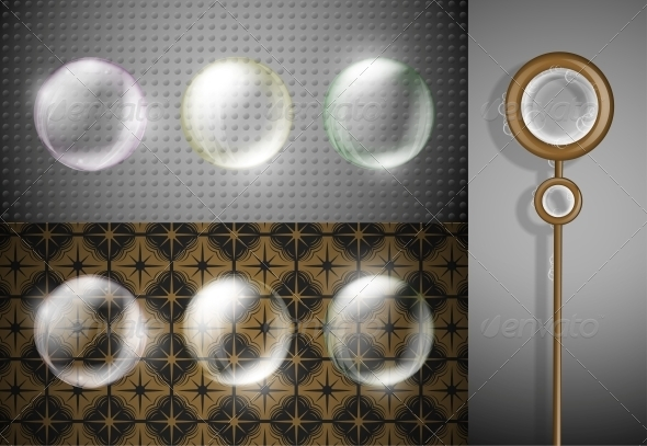 GraphicRiver Set of Soap Bubbles 4480665