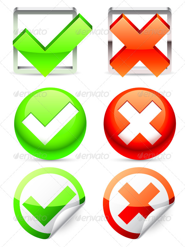 GraphicRiver Check Symbols 4481214