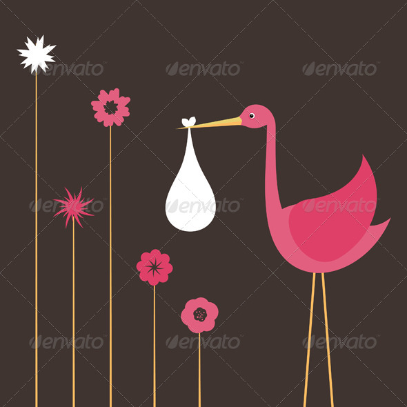 GraphicRiver Stork 4 4481698