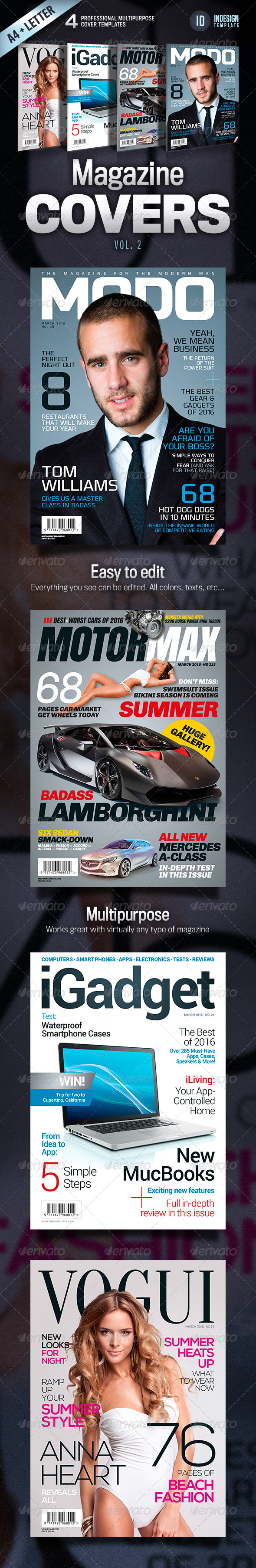 GraphicRiver Magazine Covers Vol 2 4481772