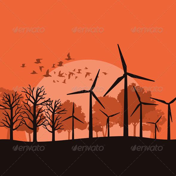 GraphicRiver Wind Power 3 4481778