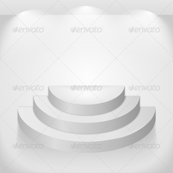 GraphicRiver Round Shelves 4481902