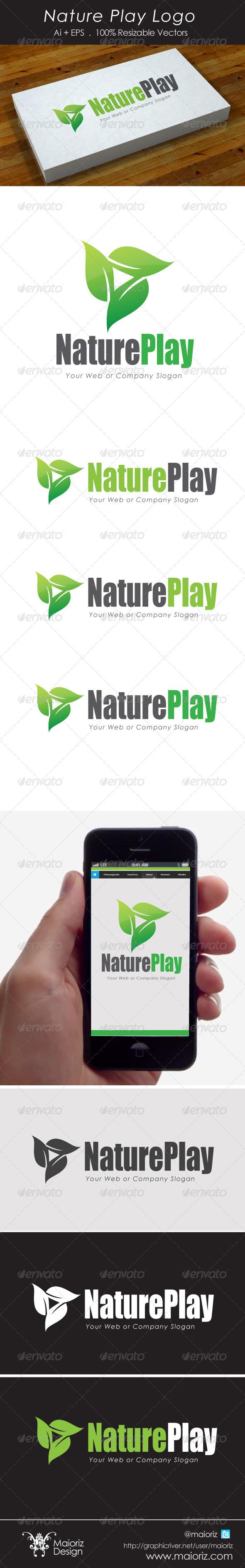 GraphicRiver Nature Play Logo 4482201