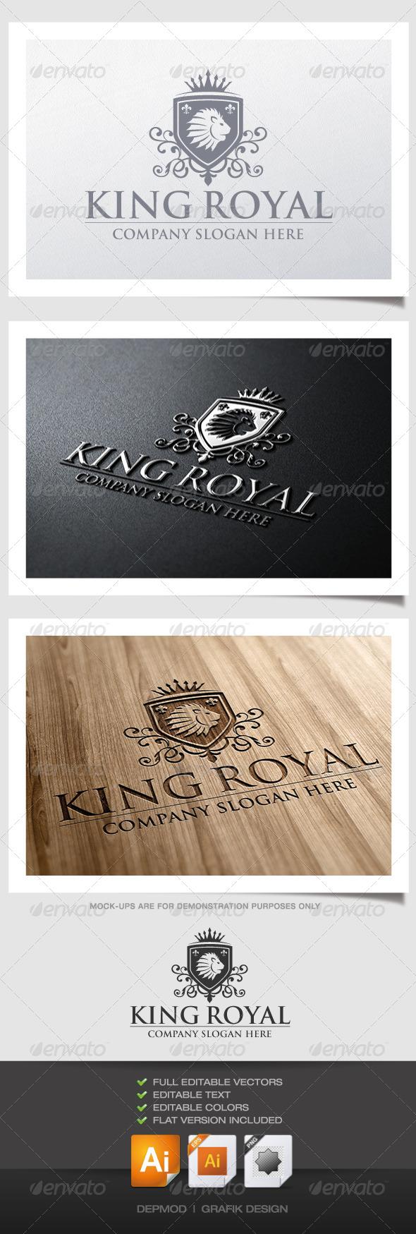 GraphicRiver King Royal Logo 4213086