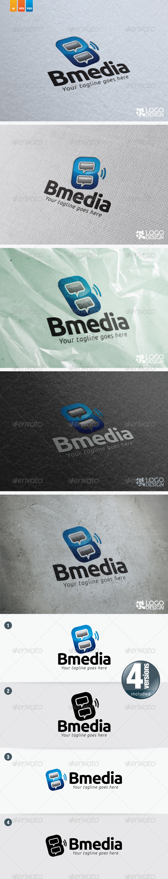Bmedia - Letters Logo Templates