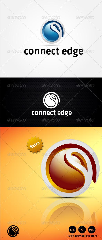 GraphicRiver Connect Edge Logo 4399288