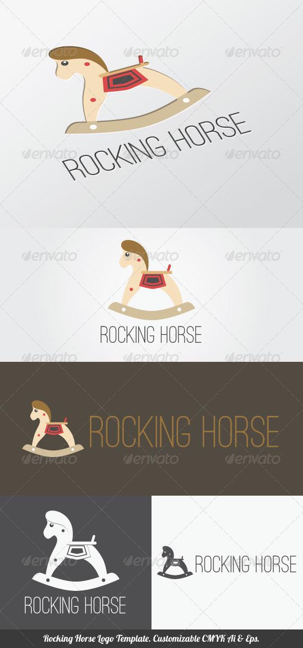 GraphicRiver Rocking Horse Logo Template 4372501