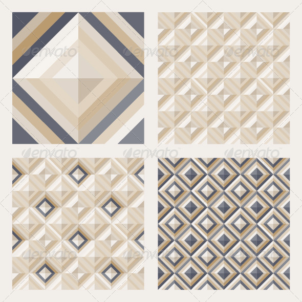 GraphicRiver Set of Floor Tiles Patterns 4483627