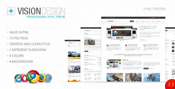 Vision Design Premium HTML Template