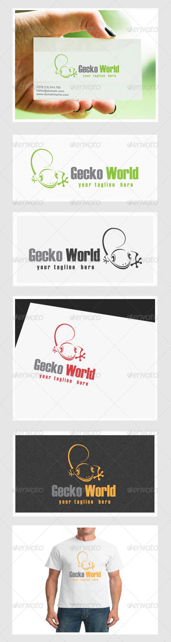 GraphicRiver Gecko World 4408362