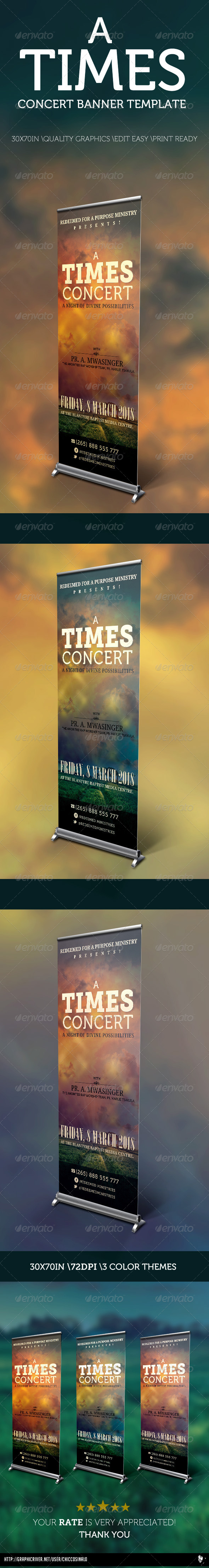 GraphicRiver A Times Concert Banner Template 4485116