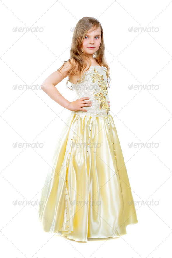 Nice little girl - Stock Photo - Images