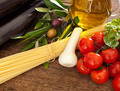 Ingredients of Pasta alla Norma