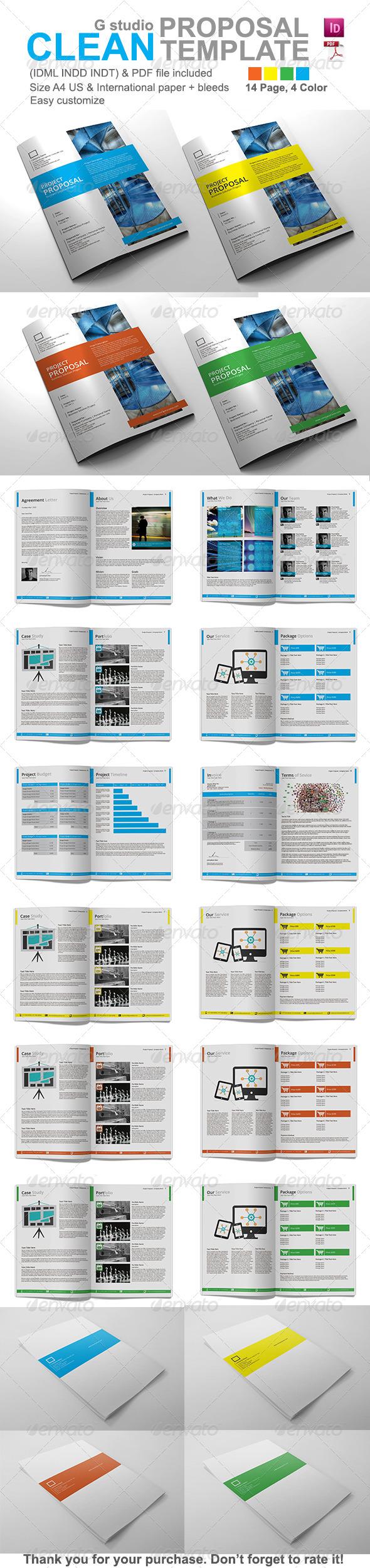 GraphicRiver Gstudio Clean Proposal Template 4485656