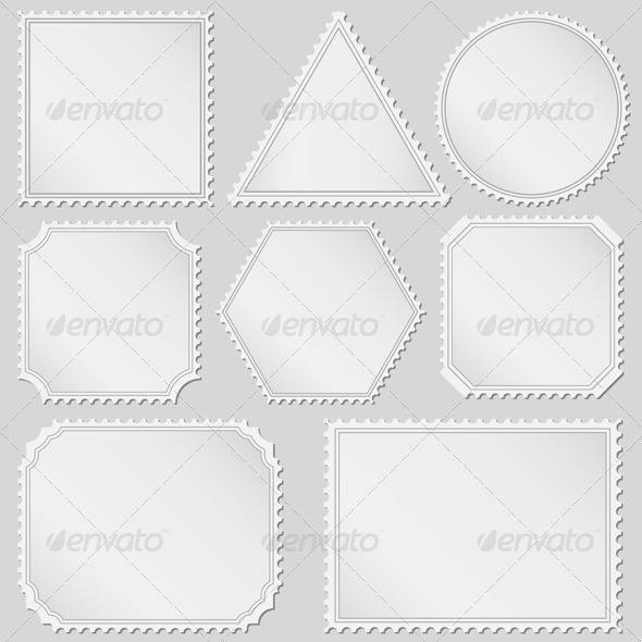 GraphicRiver Postage Stamps 4486245