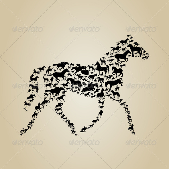 GraphicRiver Horse 4486282