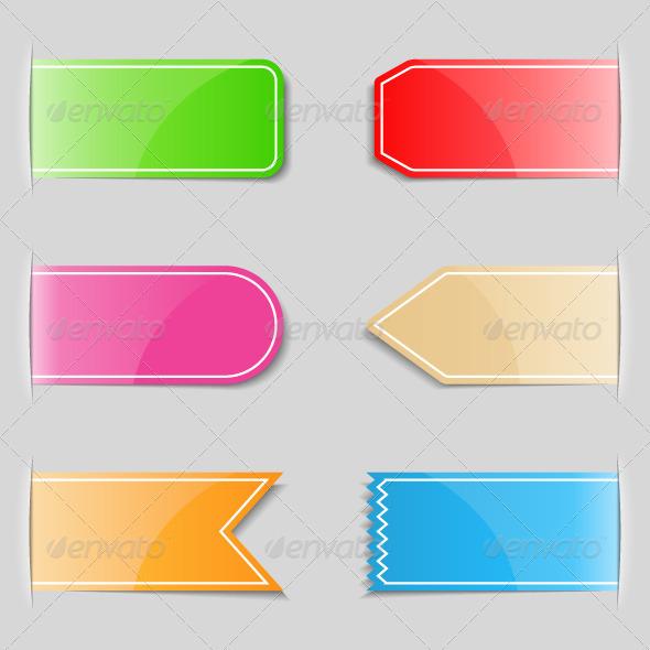 GraphicRiver Web Tabs 4486283