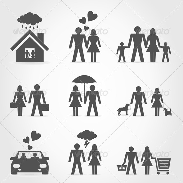 GraphicRiver Icons a Family 6 4486305