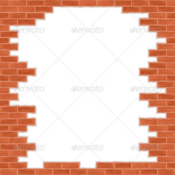GraphicRiver Broken Brick Wall 4486320