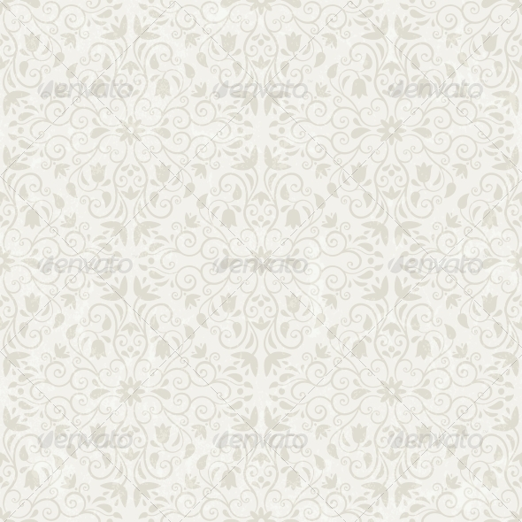 GraphicRiver Seamless Floral Wallpaper 4486860
