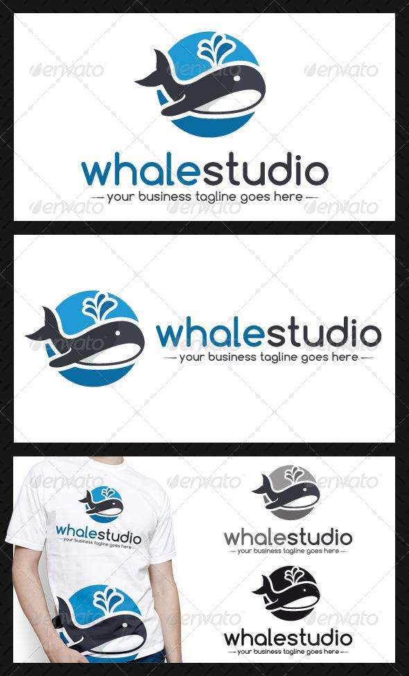GraphicRiver Whale Logo Template 4487121