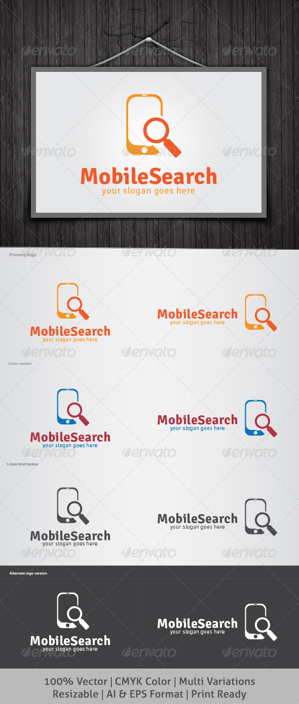 GraphicRiver Mobile Search Logo 4487156