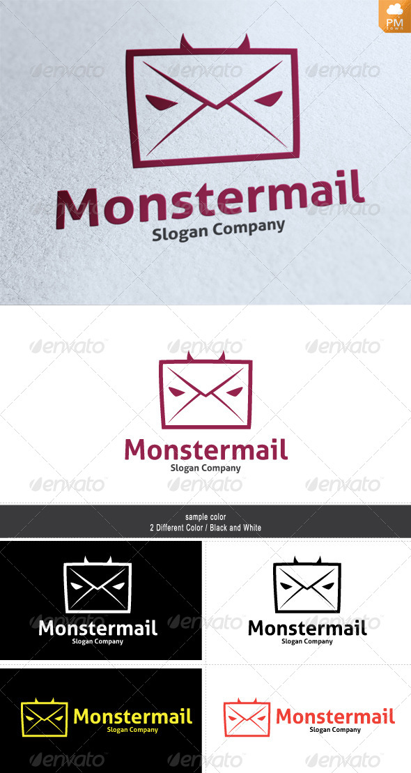 GraphicRiver Monster Mail 4487233