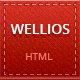 Wellios - Responsive vCard Template - ThemeForest Item for Sale