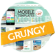 Grungy Mobile Portfolio PSD Theme - ThemeForest Item for Sale