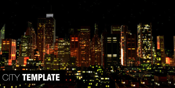 [VideoHive 475323] City Template | After Effects Project