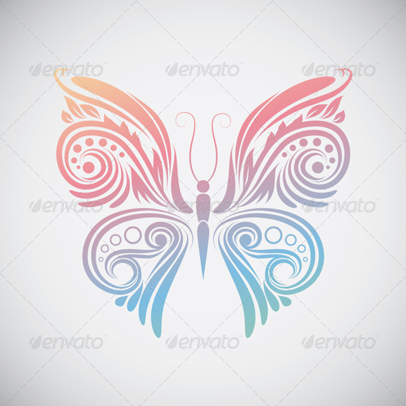 GraphicRiver Decoration Butterfly 4488356