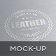 Logo/Label Mockup - Leather/Metal