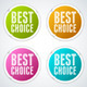 Colorful Stickers Set - GraphicRiver Item for Sale