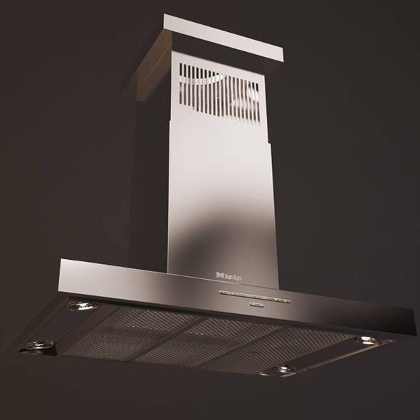 Kitchen Hood Miele - 3DOcean Item for Sale