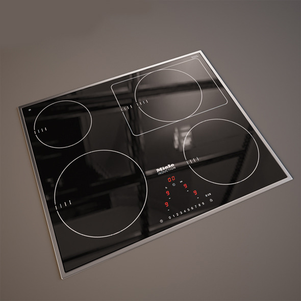 Electric Panel Miele  - 3DOcean Item for Sale