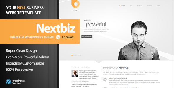 ThemeForest Nextbiz Responsive Multi-Purpose WordPress Theme 4489458
