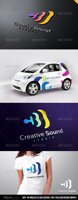 GraphicRiver Sound Studio Logo 4489552