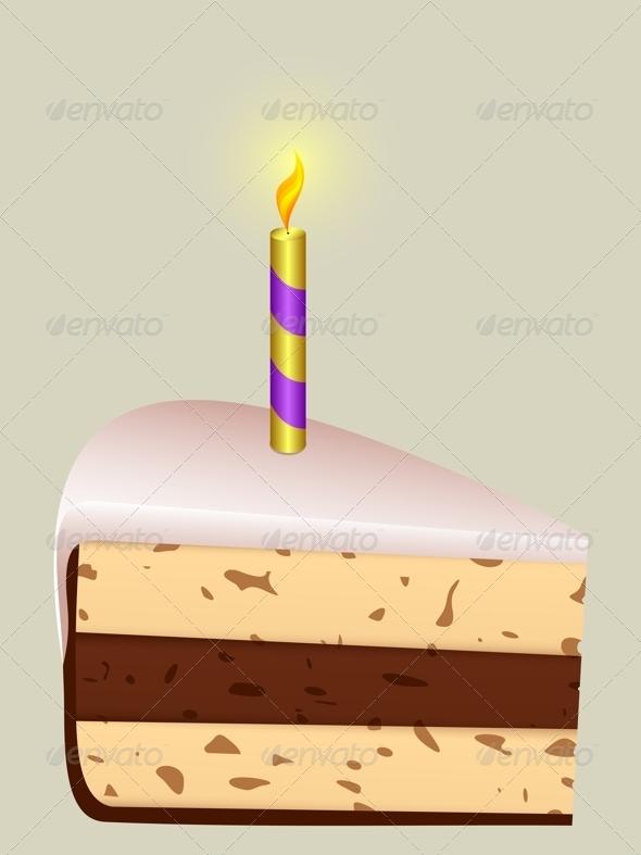 GraphicRiver Festive Piece of Cake 4489704