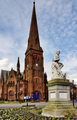 Greyfriars Church and Robbie Burns statue - PhotoDune Item for Sale