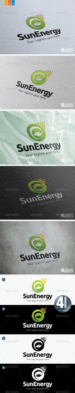 Sun Energy - Symbols Logo Templates