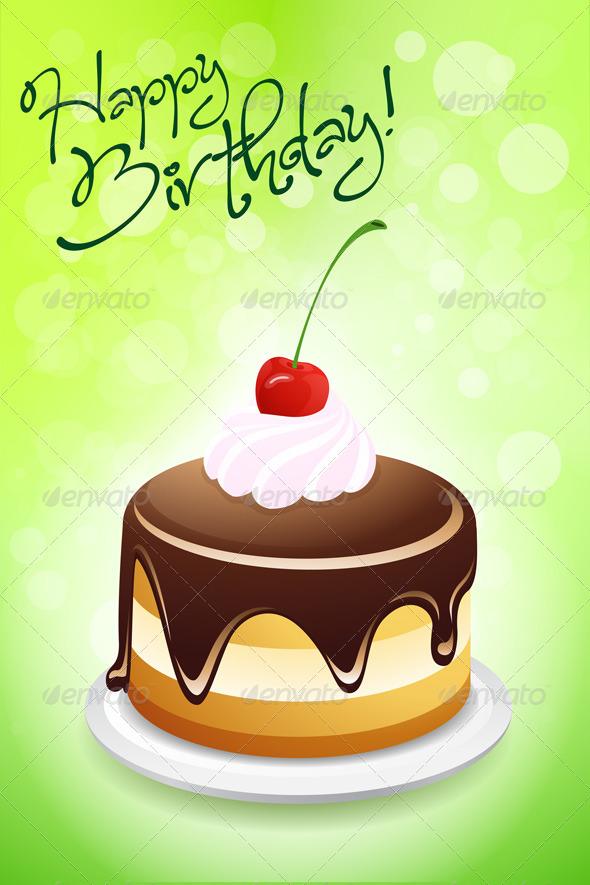 GraphicRiver Happy Birthday Card 4490697